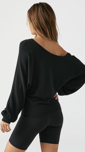 Slouchy Dolman Long Sleeve - ONFEMME By Lindsey's Kloset