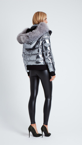 Gunmetal Spaceship Jacket - ONFEMME By Lindsey's Kloset