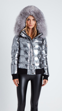 Load image into Gallery viewer, Gunmetal Spaceship Jacket - ONFEMME By Lindsey's Kloset