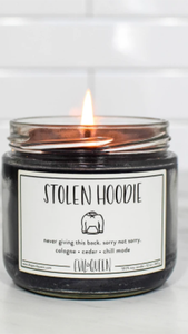 Stolen Hoodie Candle - ONFEMME By Lindsey's Kloset
