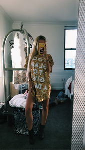 Too Glam to Give a Damn Sequin Mini Dress - ONFEMME By Lindsey's Kloset