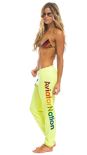 Load image into Gallery viewer, Neon Yellow Sweatpants - Lindsey's Kloset