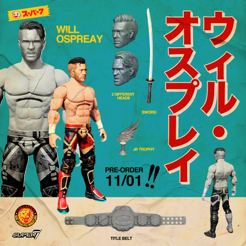 New Japan Pro-Wrestling Ultimate -  Will Ospreay