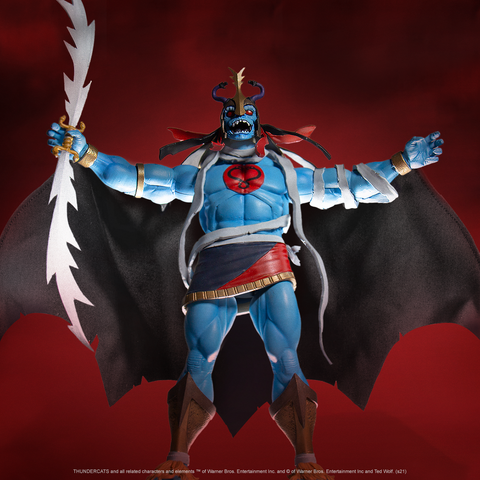 Thundercats ULTIMATES! Figure Wave 2 - Mumm-Ra the Ever-Living with Ma-Mutt 2-Pack  (Pre-Order)