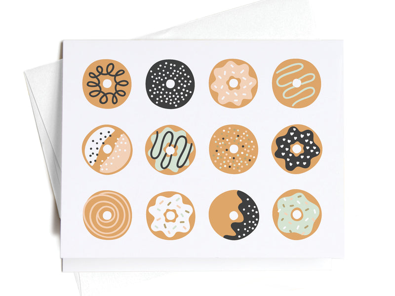 Donuts Notecards - onderkast-studio