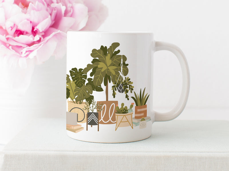 Dallas House Plants Mug