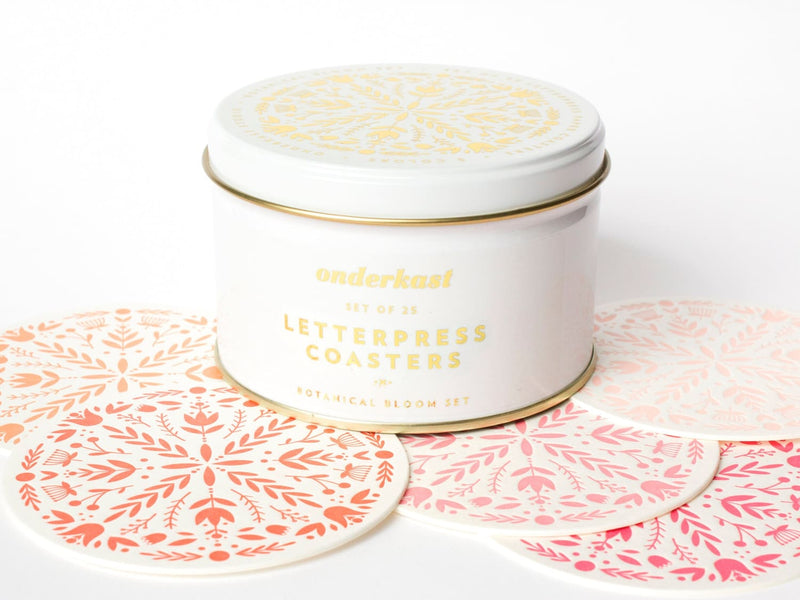 Botanical Bloom - Coaster - Onderkast Studio