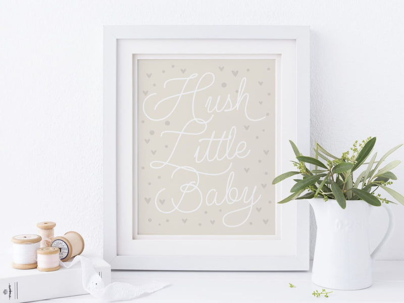 Hush Little Baby - Art Print - Onderkast Studio