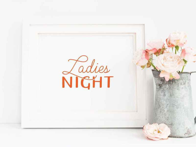 Ladies Night Art Print - onderkast-studio