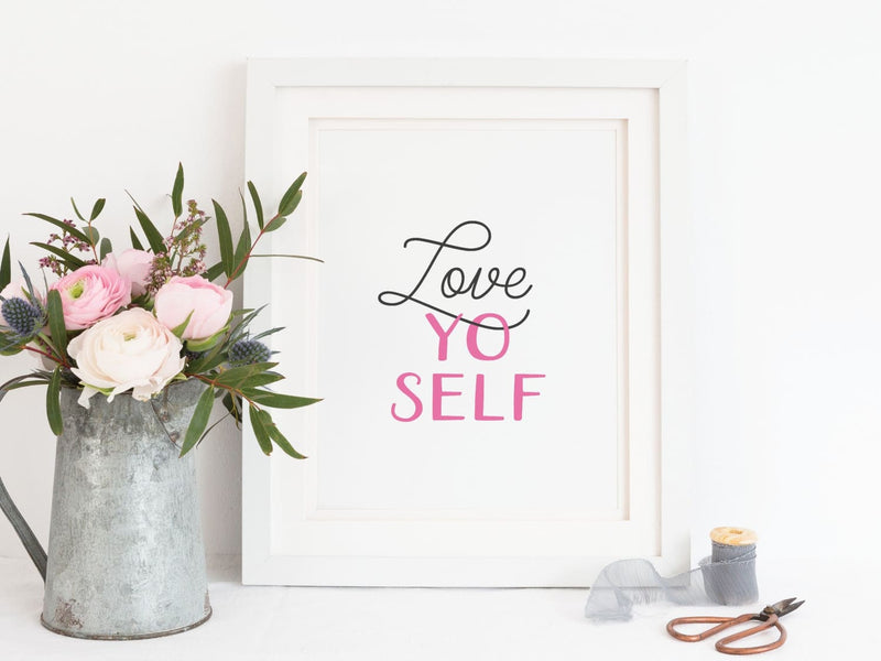 Love Yo Self - Art Print - Onderkast Studio