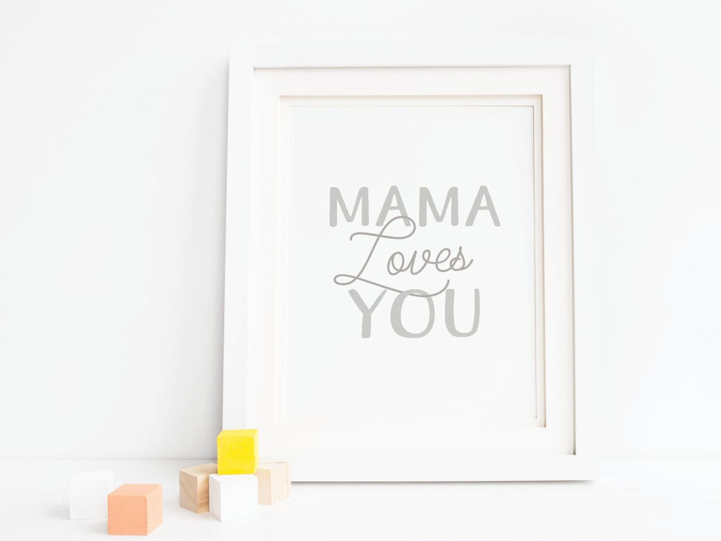 Mama Loves You - Art Print - Onderkast Studio