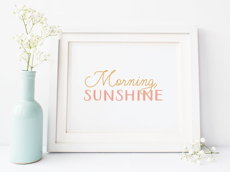 Morning Sunshine - Art Print - Onderkast Studio