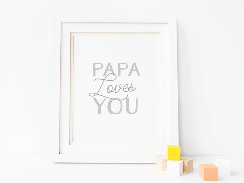 Papa Loves You - Art Print - Onderkast Studio