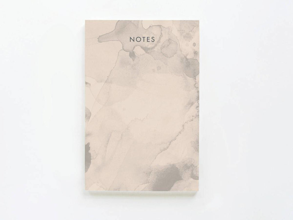 Soft Ink Blotted Notes - onderkast-studio