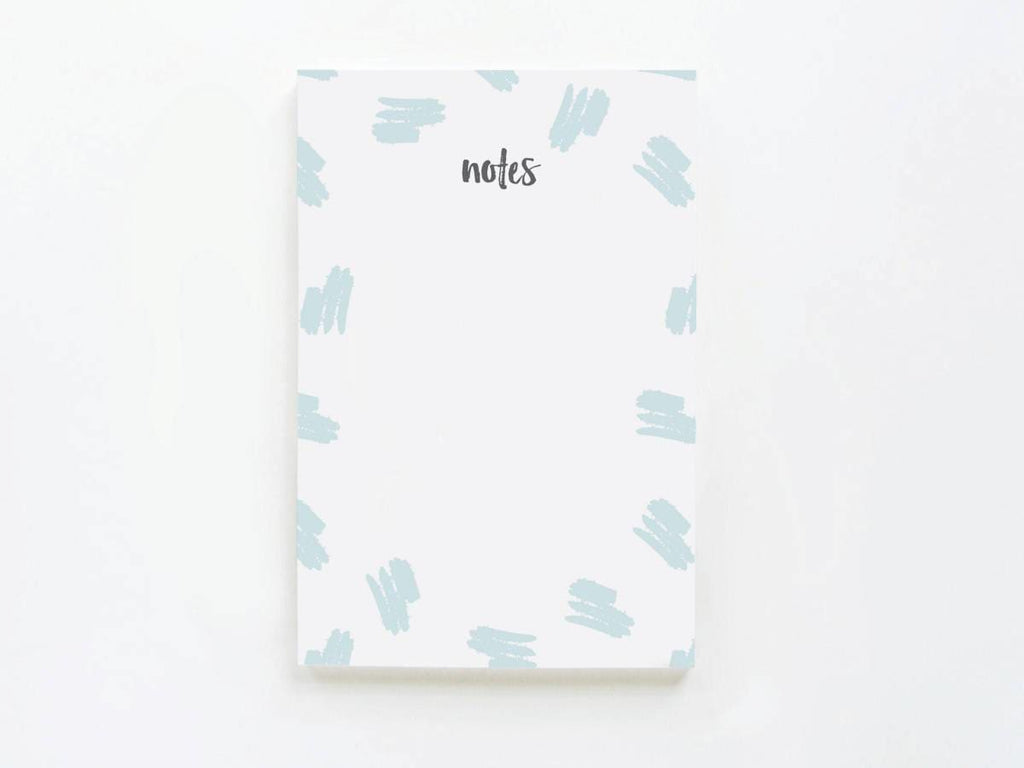 Trendy Brush Pattern Notes - onderkast-studio