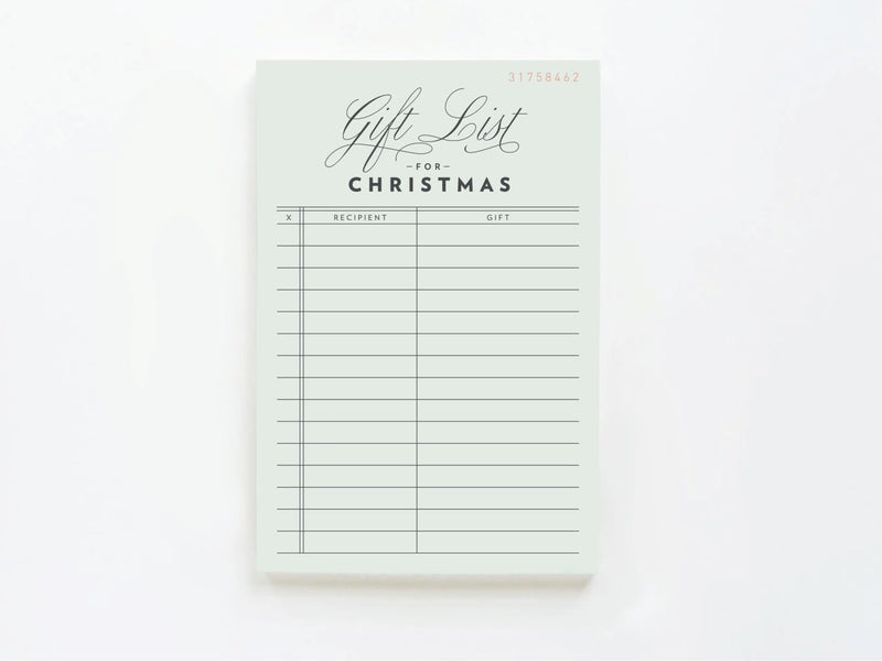 Vintage Gift List for Christmas - onderkast-studio