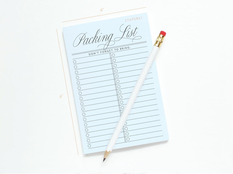 Vintage Packing List - Notepads - Onderkast Studio