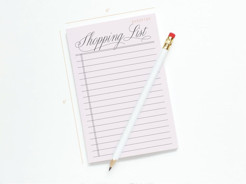 Vintage Shopping List - Notepads - Onderkast Studio