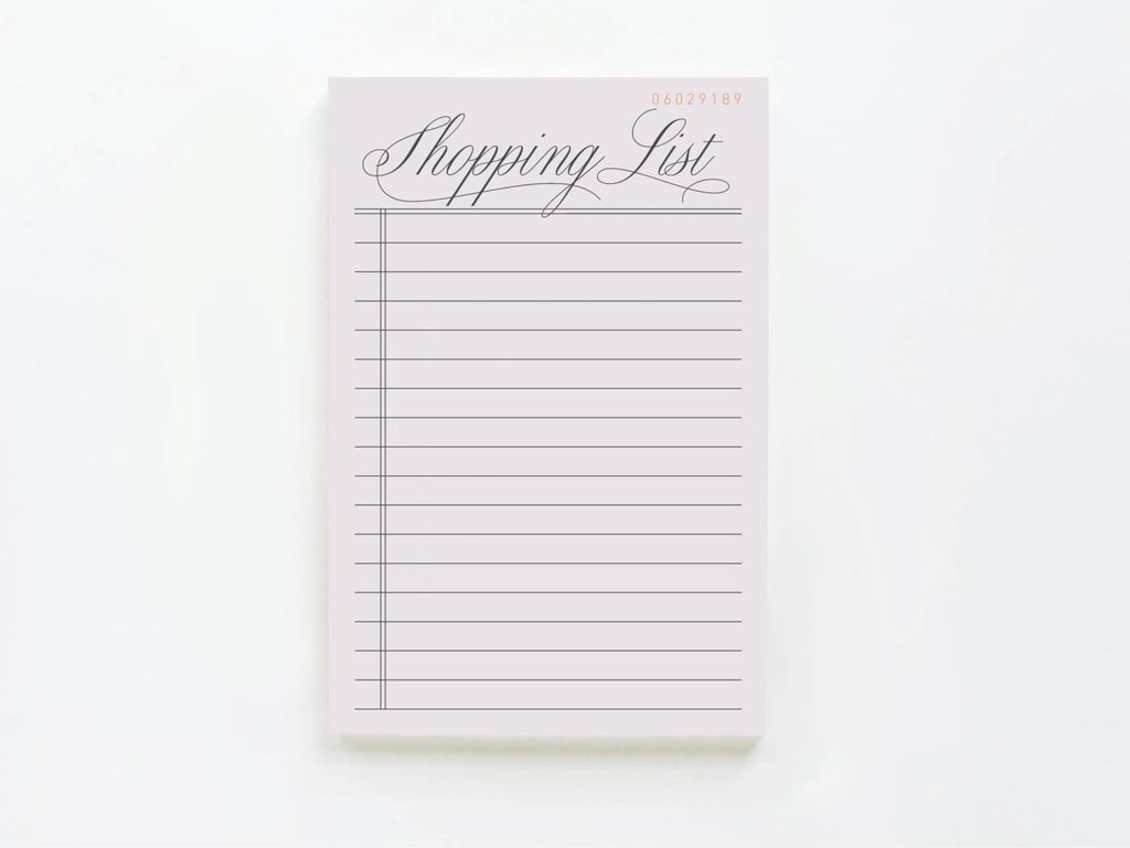 Vintage Shopping List - onderkast-studio