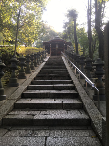 Small shrine on the Tofukuji grounds