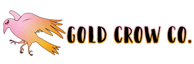 Gold Crow Co. Logo and Title