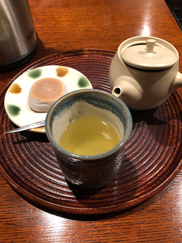 Hojicha Green Tea at Ippodo Tea Room, Kyoto