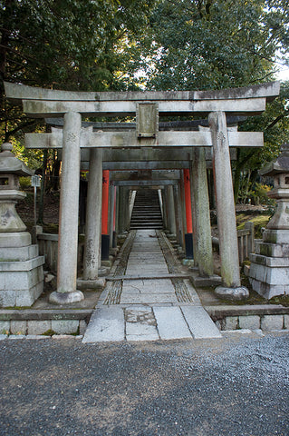 Shrine on the grounds of Tofukuji Temple
