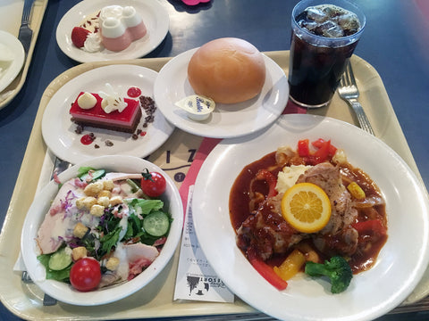 Lunch at Horizon Bay Restaurant, Tokyo Disney Sea
