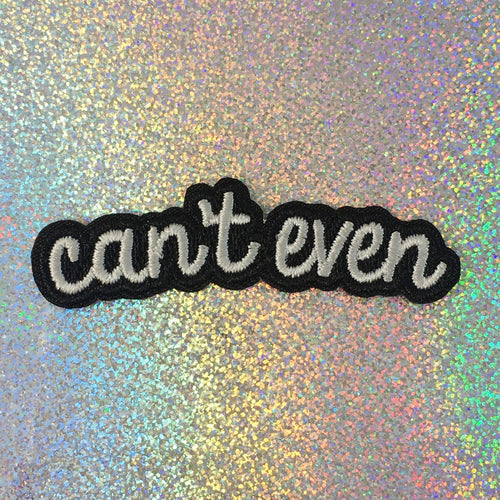 Can't Even Patch - Gold Crow Co.