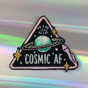 Cosmic AF Patch - Gold Crow Co.