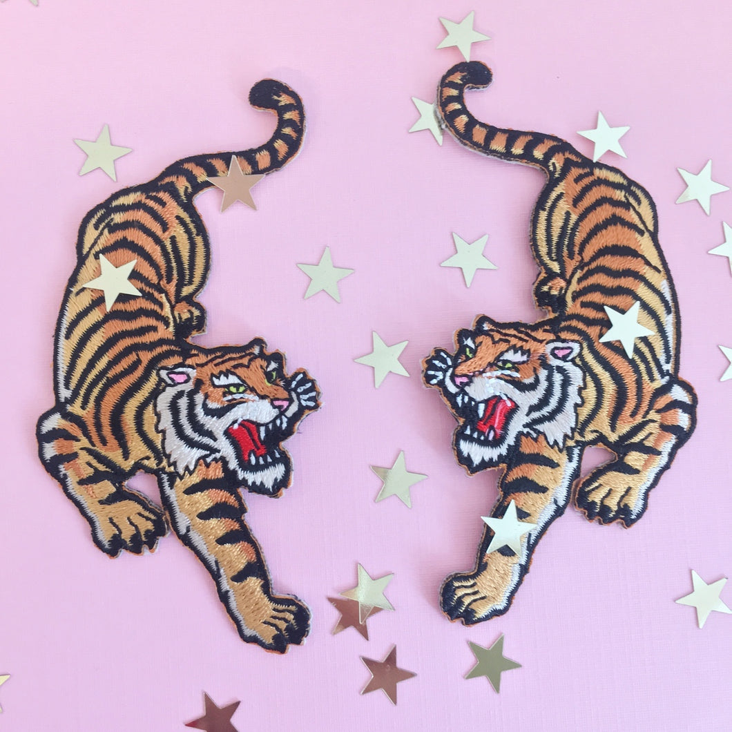 Tiger Patch Set - Gold Crow Co.
