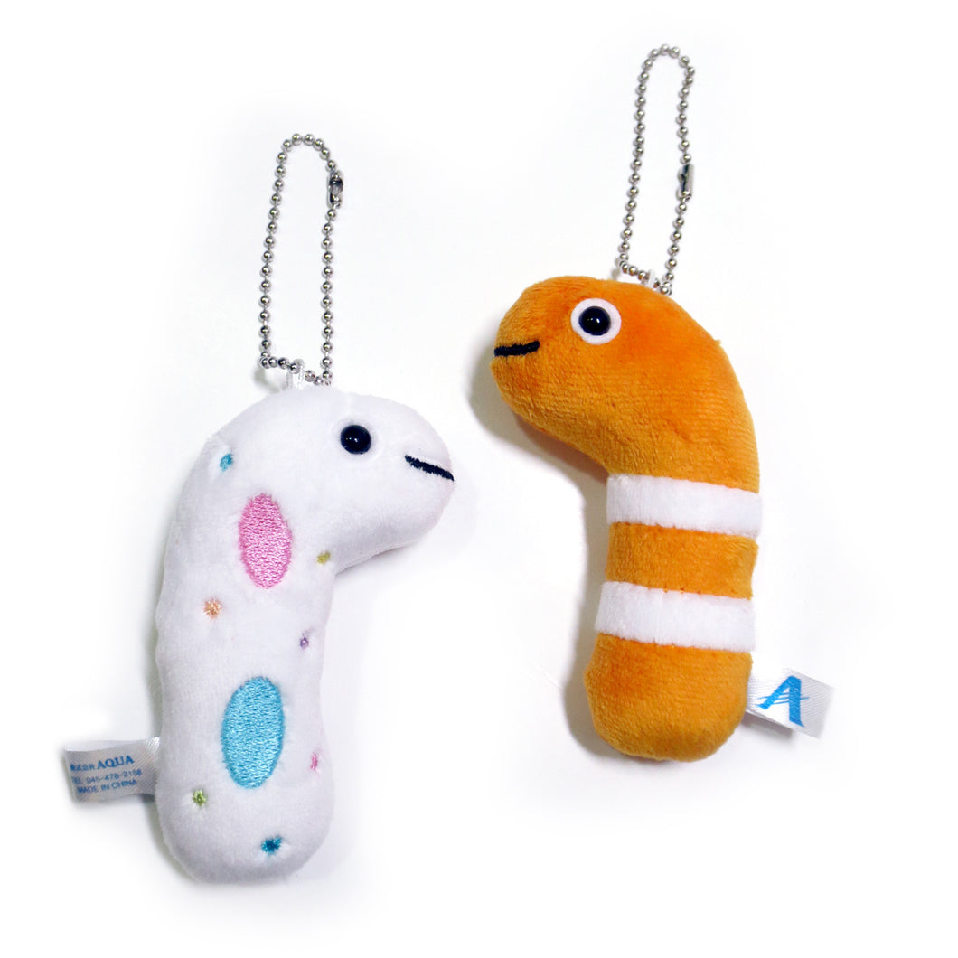 Plush Eel Keychains - Gold Crow Co.