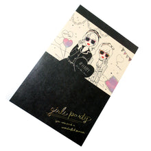 Girls Party Lined Notebook - Gold Crow Co.