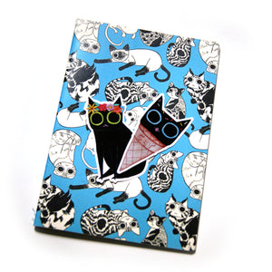 So Many Cats Blank Sketchbook - Gold Crow Co.