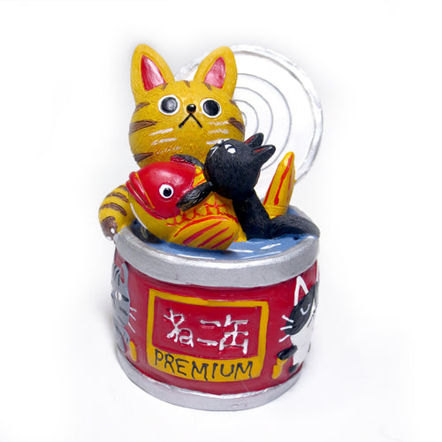 Cat Food Resin Figurine - Gold Crow Co.