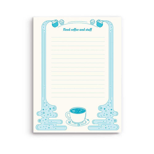 Galaxy Latte Notepad - Gold Crow Co.