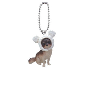Anicolla Series Dog Cosplay Blind Box Keychain - Gold Crow Co.