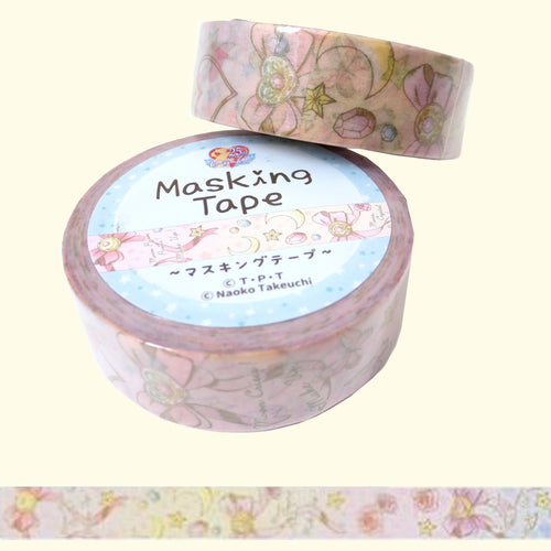 Sailor Moon Prism Power Washi Tape - Gold Crow Co.