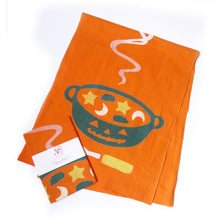 Pumpkin Soup Japanese Tea Towel - Gold Crow Co.