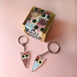Cat Food Ice Cream Keychain Blind Box