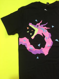 PREORDER Promare Lio Dragon Shirt - Gold Crow Co.