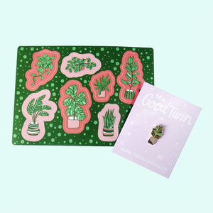 Plants Sticker Sheet - Gold Crow Co.