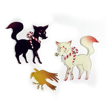 Kitsune Sticker Set - Gold Crow Co.