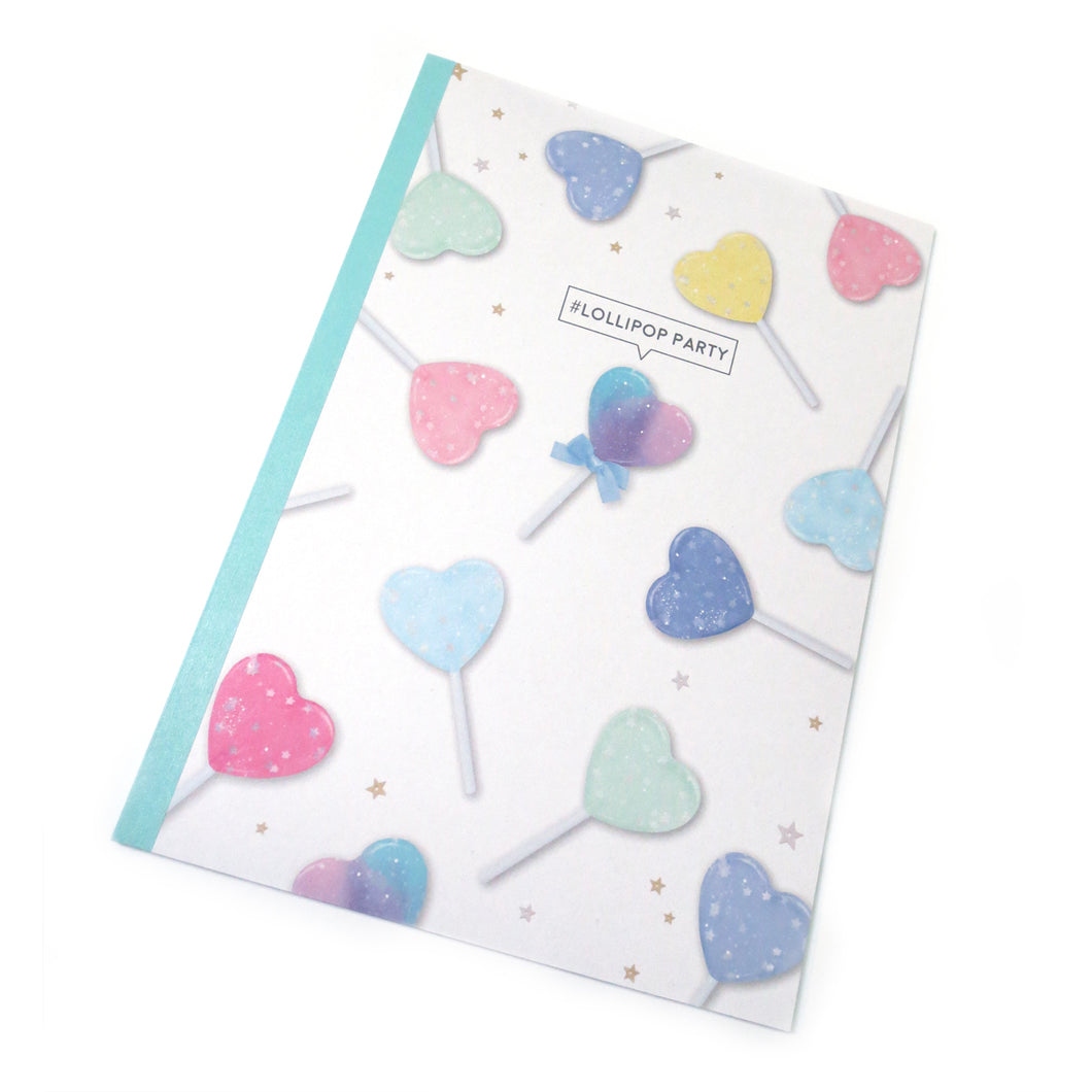 Lollipop Party Notebook - Gold Crow Co.