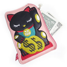 Maneki Neko Pouch - Gold Crow Co.