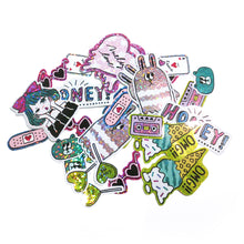 "Juicy Swanky ""Girly"" Sticker Pack - Gold Crow Co."