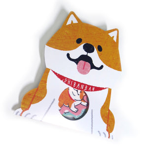 Shiba Inu Sticker Pack - Gold Crow Co.