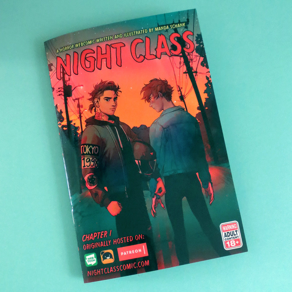 Night Class : Chapter 1 by Manda Schank (AMSBT) - Gold Crow Co.