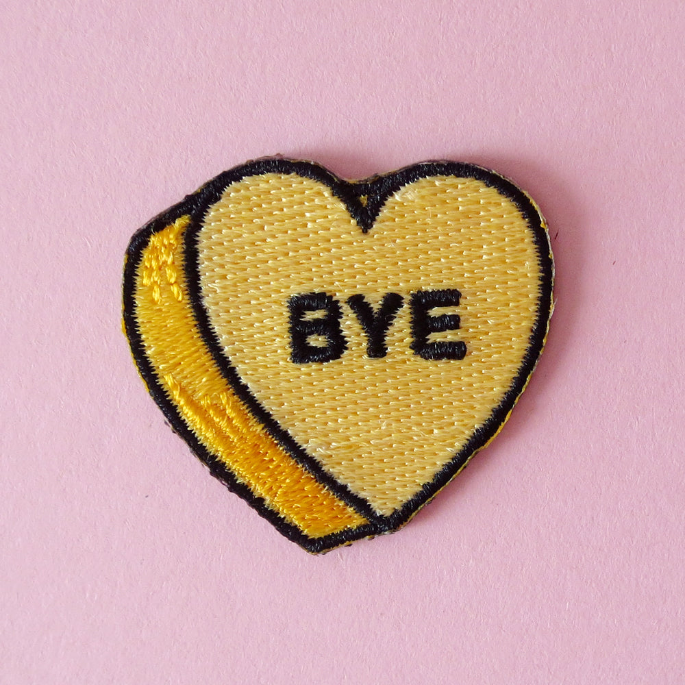Candy Heart Bye Patch