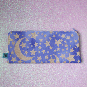 Glittery Purple Sky Pencil Case